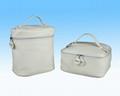 custom ladies pu leather cosmetic bags