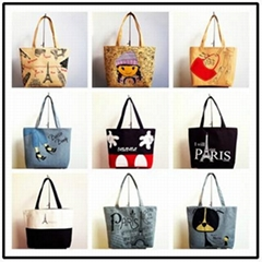 Custom printed Canvas Shopping Bags Shopper bags