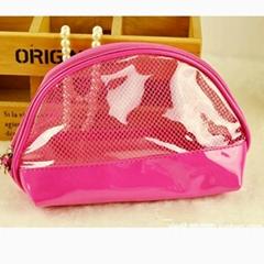 Custom Women Transparent PVC Cosmetic Bags makeup bag