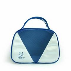 Custom satin hanging cosmetic bags makeup bag storage bag