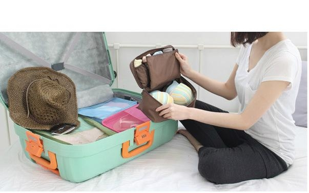 custom Women travel bag underwear storage bags 3