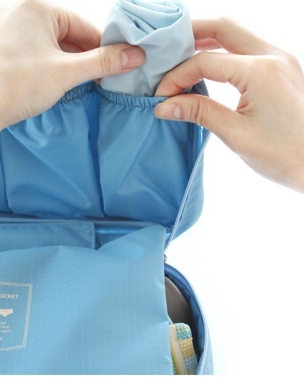 custom Women travel bag underwear storage bags 5