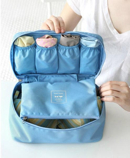 custom Women travel bag underwear storage bags 1