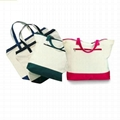 custom women canvas shopping bags