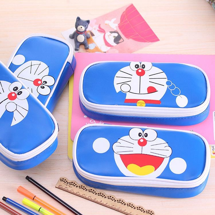 Custom pu cartoon pencil bag pencil case pencil box 4
