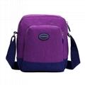 custom women nylon shoulder bag