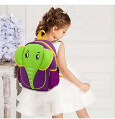 Neoprene kids cartoon school bag school backpack (Hot Product - 1*)