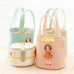 Canvas lunch bag lunch box cooler bags