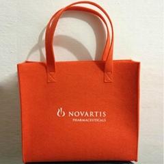 Custom Felt shopping bags shopper bags hand bags