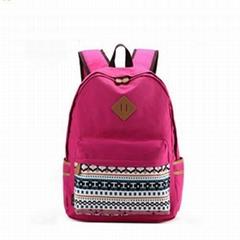 Polyester kids backpacks