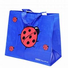 Woven polypropylene tote bags shopping bags shopper bags