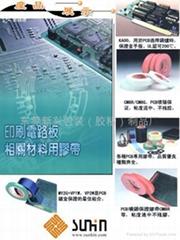 皱纹胶纸、高温美纹胶、波峰焊保护胶带