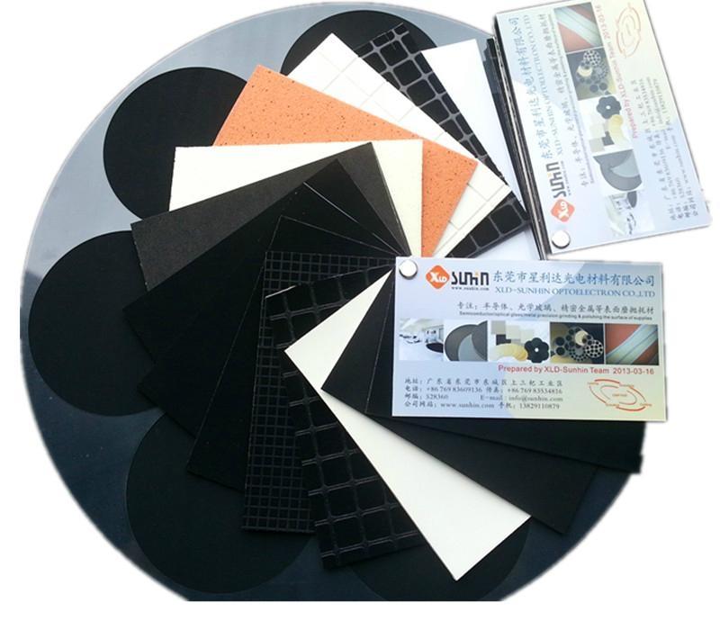 ITO玻璃盖板抛光垫、黑色聚氨酯抛光皮 6