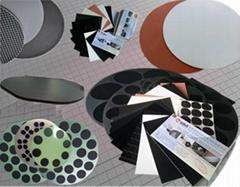 ITO玻璃盖板抛光垫、黑色聚氨酯抛光皮