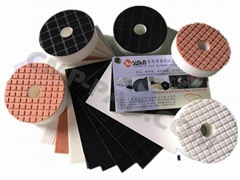 3D/2.5D polishing pad,curved edge polishing pads