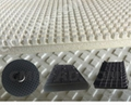 curved edge polishing pads