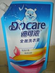 廣東2KG旋蓋洗衣液包裝袋