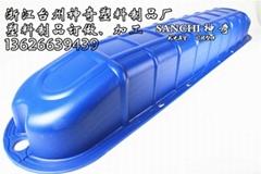 水車式增氧機浮船配件加厚