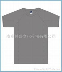 运动型文化衫