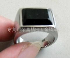 316不锈钢戒指