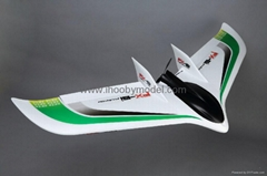 FPV EPO airplane model-FX-61 Phantom ,flying wing