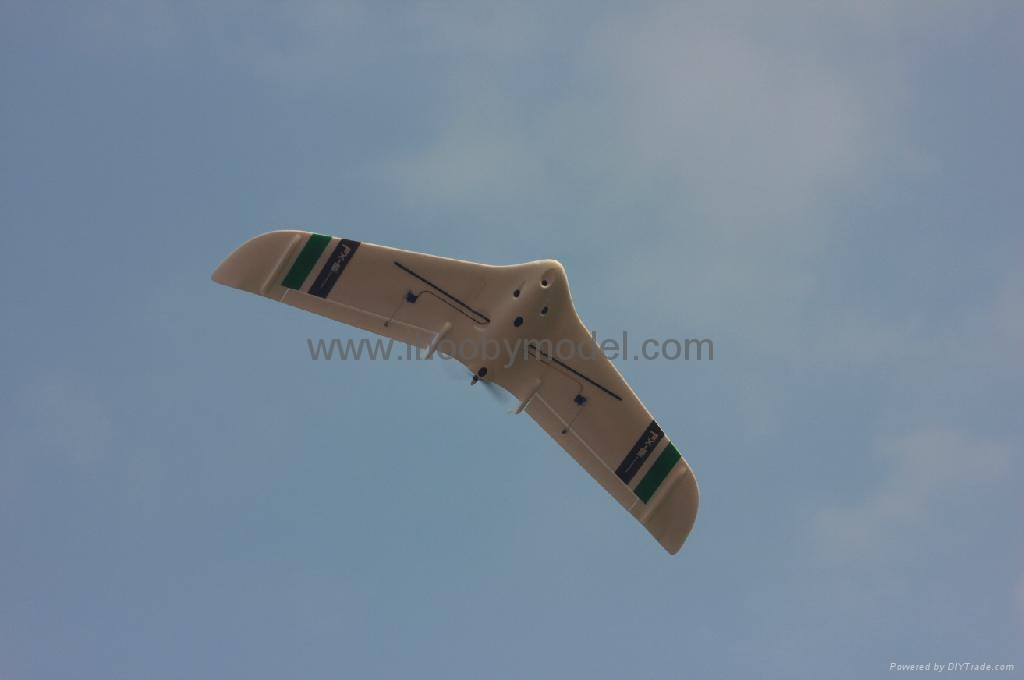 FPV EPO airplane model-FX-61 Phantom ,flying wing 6