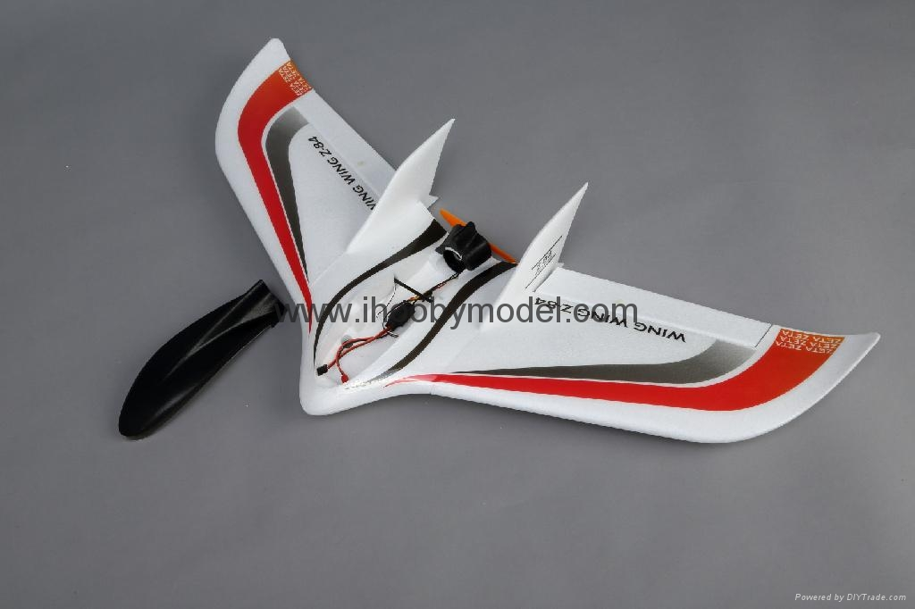 RC airplane- Flying wing,4CH EPO RC airplane  wing wing Z-84 7