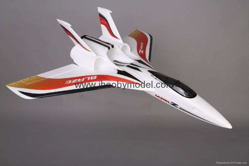 Fastest EPO rc jet- high speed RC plane model Ultra Z Blaze 1