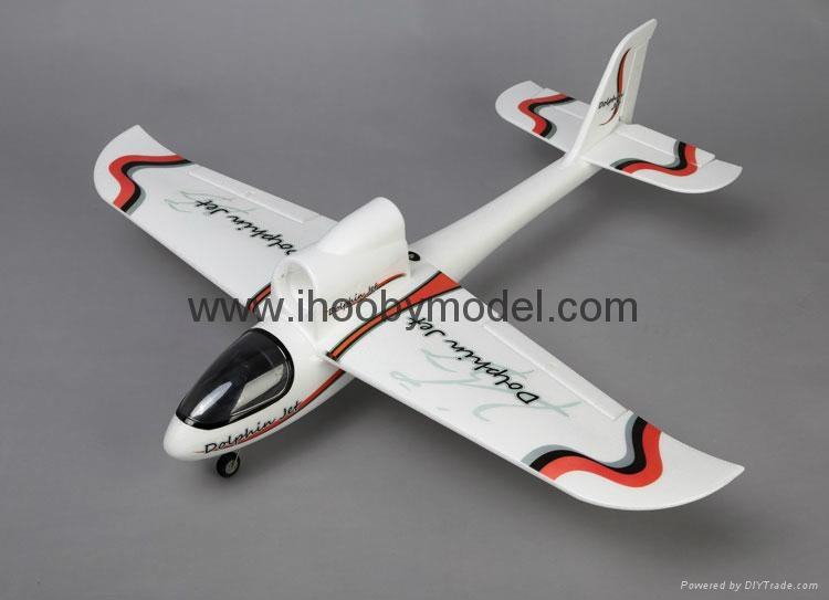 RC aircraft EPO model 4CH 2.4GHZ Dolphin jet 3