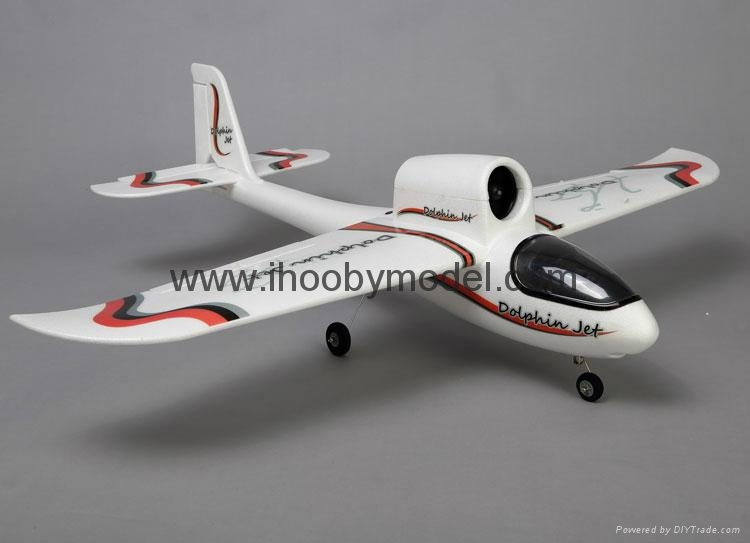 RC aircraft EPO model 4CH 2.4GHZ Dolphin jet 2