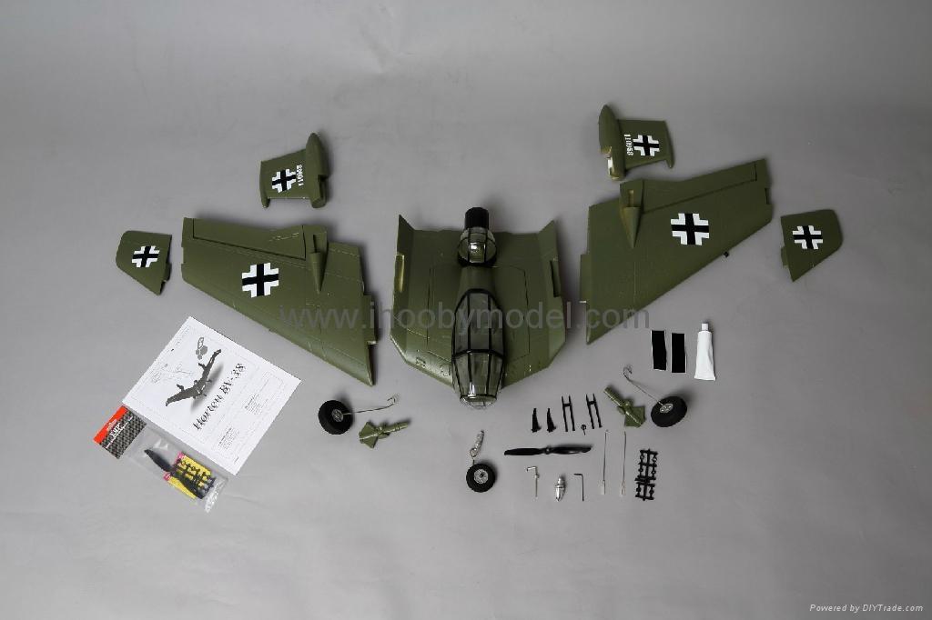 Horten BV-38 Scale model EPO airplane model 10