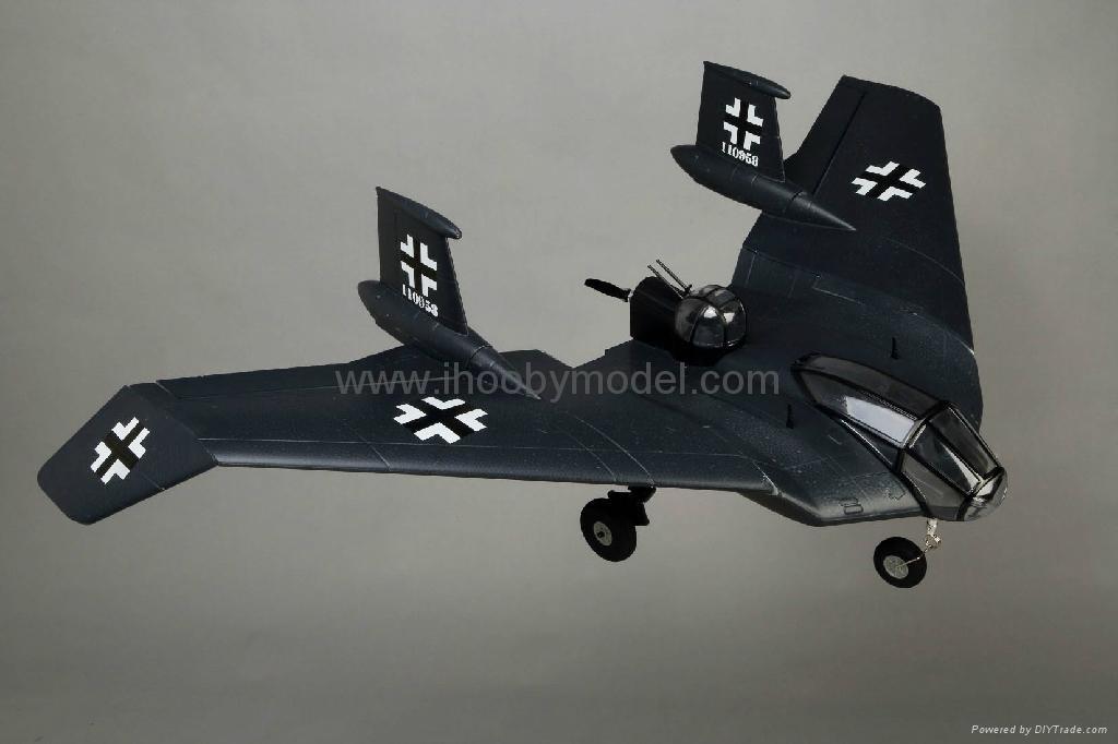 Horten BV-38 Scale model EPO airplane model 1