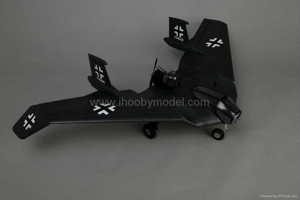 Horten BV-38 Scale model EPO airplane model 2