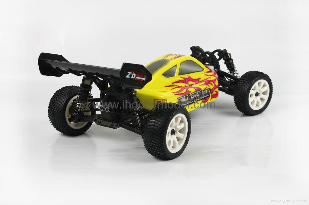 1/10 Electric RC Car Brushed Electric B   y 4WD 2.4G RTR off-road vehicles  3