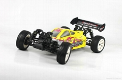 1/10 Electric RC Car Brushed Electric Buggy 4WD 2.4G RTR off-road vehicles