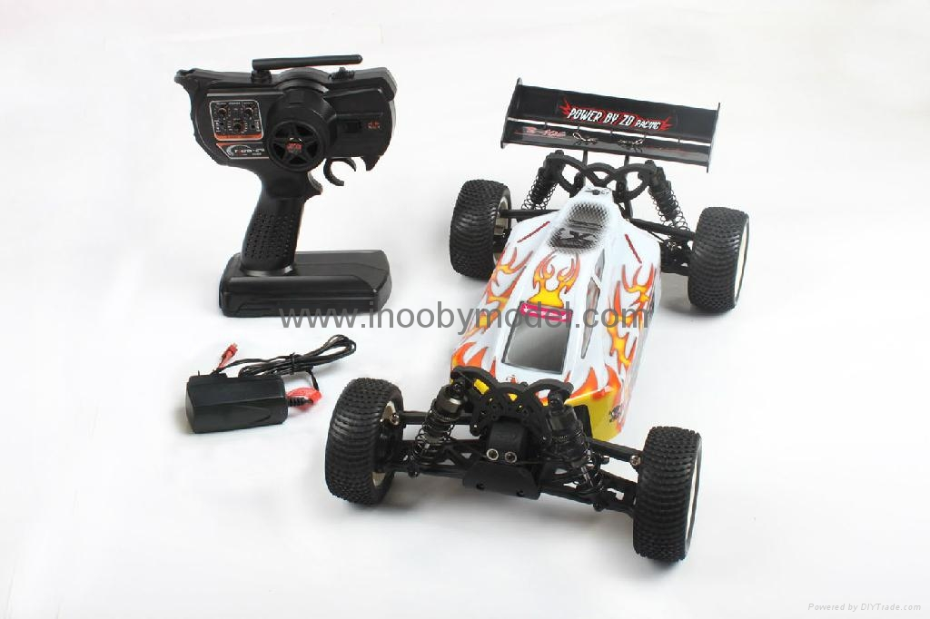 1/10 Electric RC Car Brushed Electric B   y 4WD 2.4G RTR off-road vehicles  6