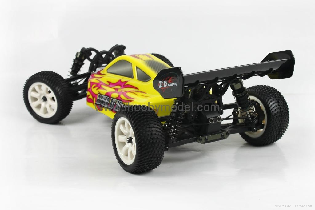 1/10 Electric RC Car Brushless Electric B   y 4WD 2.4G RTR off-road vehicles  1