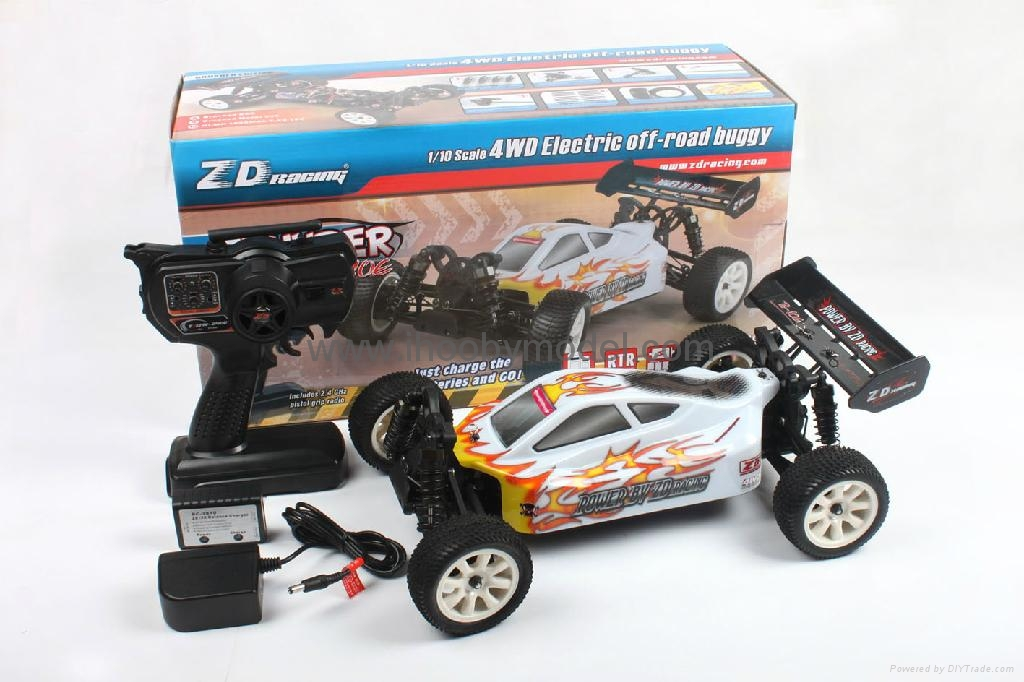 1/10 Electric RC Car Brushless Electric B   y 4WD 2.4G RTR off-road vehicles  16