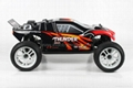 1/10 Electric RC Car Brushed Electric Tr   y 4WD 2.4G RTR off-road vehicles  2