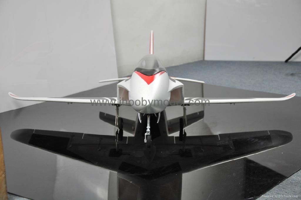 Sonic 90mm  EDF Jet 1200mm wingspan EPO RC plane model high speed airplane 4
