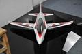 Sonic 90mm  EDF Jet 1200mm wingspan EPO RC plane model high speed airplane 2