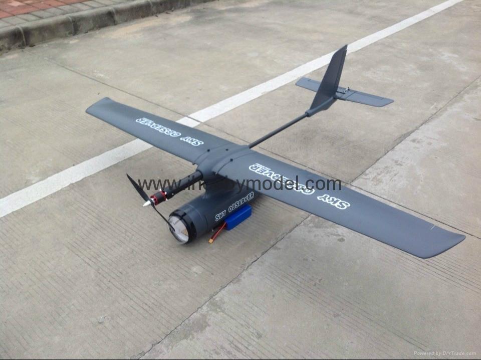 Sky observer FPV flying wing UAV EPO foam wing 2m wingspanf 1