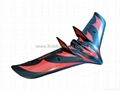 C-1 Chaser FPV flying wing 1200mm wingspan  bigger than wing wing Z-84 9