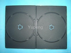 Long DVD Box long DVD Case long DVD Cover 5MM  rectange  Double Black