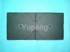 DVD Case 5mm Short Double Black (YP-D816H)