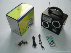Portable  USB  &  Mini speaker (YP-50)