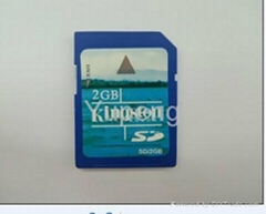 SD card  in 2GB  (YP-011