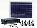 8W Solar power system,portable solar LED lantern for outdoor lighting 1