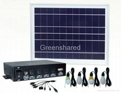 便携式太阳能照明系统