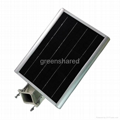 6W Integrated Solar Street Lights,LED Solar Garden Lamp